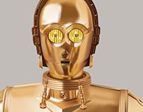 C-3PO Ilustración