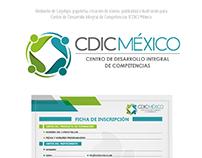 Rediseño de Logotipo y Branding para CDIC México.
