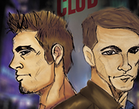 Desenho Clube da Luta