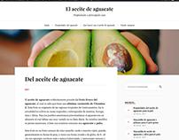 """Blog """"El aceite del aguacate"""""""