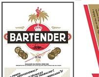 Book - Bartender - Adesivos - Frente e Verso
