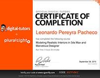 Certificados / Certificates