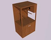 Viveiro-armário para pássaros