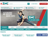 ZNC Suplementos - E-commerce