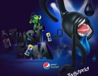 Pepsi Twist // Ações Promocionais