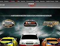 Conceituação e redação de textos para site da Stock Car