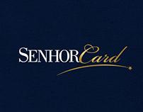 Senhor Card Logo Design
