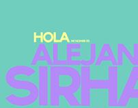 Mi nombre es Alejandra