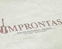 Improntas Logo for musicians
