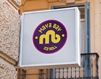 Logo Maya Bay Ice Roll