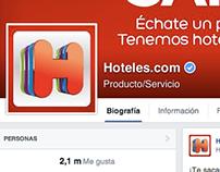 Hoteles.com Social Media