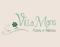 Identidade Visual Floricultura Villa Maris