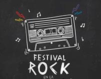 Cartel Festival Rock en la Mochila