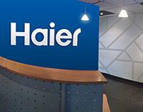 Ambientación oficinas Haier