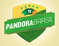 BRANDING - PANDORA BRASIL