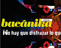 Portada para la Revista Bacánika (2012)
