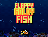Flappy Goldy Fish - Game