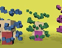 Animación Partículas 3D