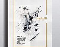 Mackelli. Uñas y Spa. Identidad Visual. México