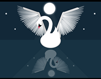 Css swan in the lake version