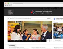 Sitio web: Ministerio de Educación