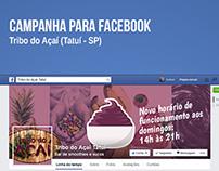 Tribo do Açaí (Campanha para Facebook)