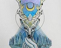 El espíritu del bosque - Forest spirit