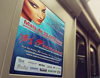 Layouts para Publicidade no Metrô SP