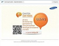 Gráfica realizada para Samsung Ecuador.