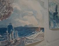 Atlantic (watercolor)