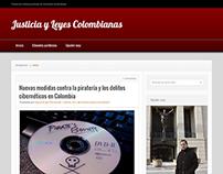 Blog Manager - Justicia y Leyes Colombianas