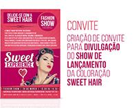 CONVITE - SWEET HAIR