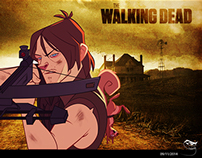 Daryl Dixon Vector (Fan Art)