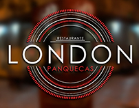 Redesign Marca Restaurante London Panquecas