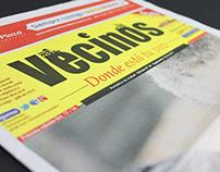 Periódico Vecinos / Diseño editorial