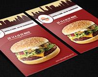 Redesign Material Gráfico - SP Burger Fest