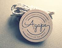 Agape Restaurant & Catering Branding