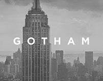 GOTHAM - Un pequeño libro tipográfico