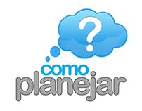 Criação logotipo da Assessoria Financeira Como Planejar
