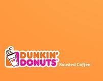 Aviso de copy - Dunkin Donuts -