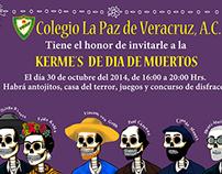 Invitation Day of the Dead