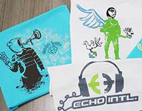 Echo International - estampas de camisetas