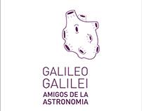 Diseño de identidad Galileo Galilei
