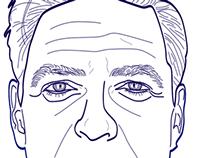 Portrait vector illustration