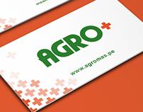 Diseño de tarjeta de visita para empresa agrícola.