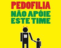 Cartaz contra Pedofilia