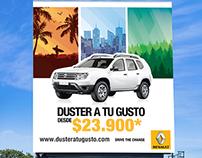 Campaña Duster a tu gusto