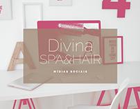 Divina Spa&Hair | Mídias Sociais