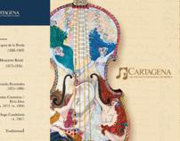 Programa de mano Cartagena Music Festival