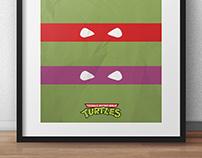 Tortugas Ninjas, Minimalista